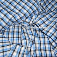 cotton woven mens check fabric(KL121158)