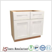 Ready To Assembled White Wooden Kitchen Cupboards Units