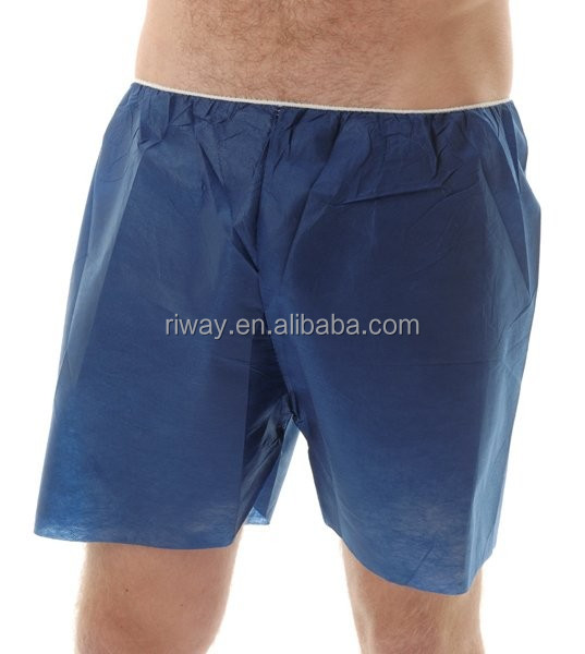 Men sanitary underwear for spa Disposable Boxers for Men
