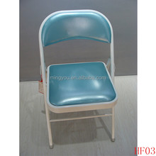 blue metal folding massage chair pads for metal folding massage chair