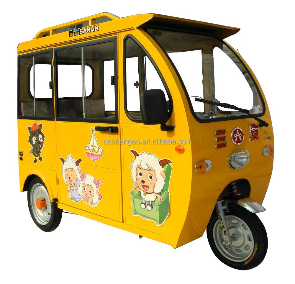 competitive price tricycle for adults from China; manual rickshaw