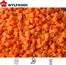 High Quality Frozen Iqf Carrots diced
