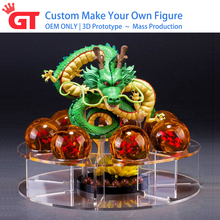 OEM ONLY DBZ Custom Made Flexible Japanese Anime Toy Action Figure Factory, Custom Pvc Bendable 3D Action Figure Factory Maker