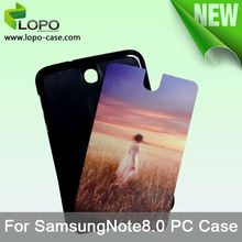 Sublimation Case for Samsung Galaxy Note8.0, plastic case