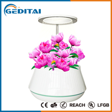 2017 home decorative LED Light organic hydroponic fertilizer electric mini Indoor green garden planter