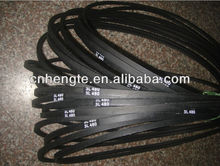 Cheap L type rubber flat v belt high quality (paypal approved)