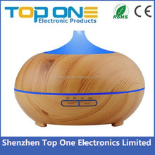 2017 New trending product 300ml wood grain electric aromatherapy ultrasonic aroma USB essential oil diffuser