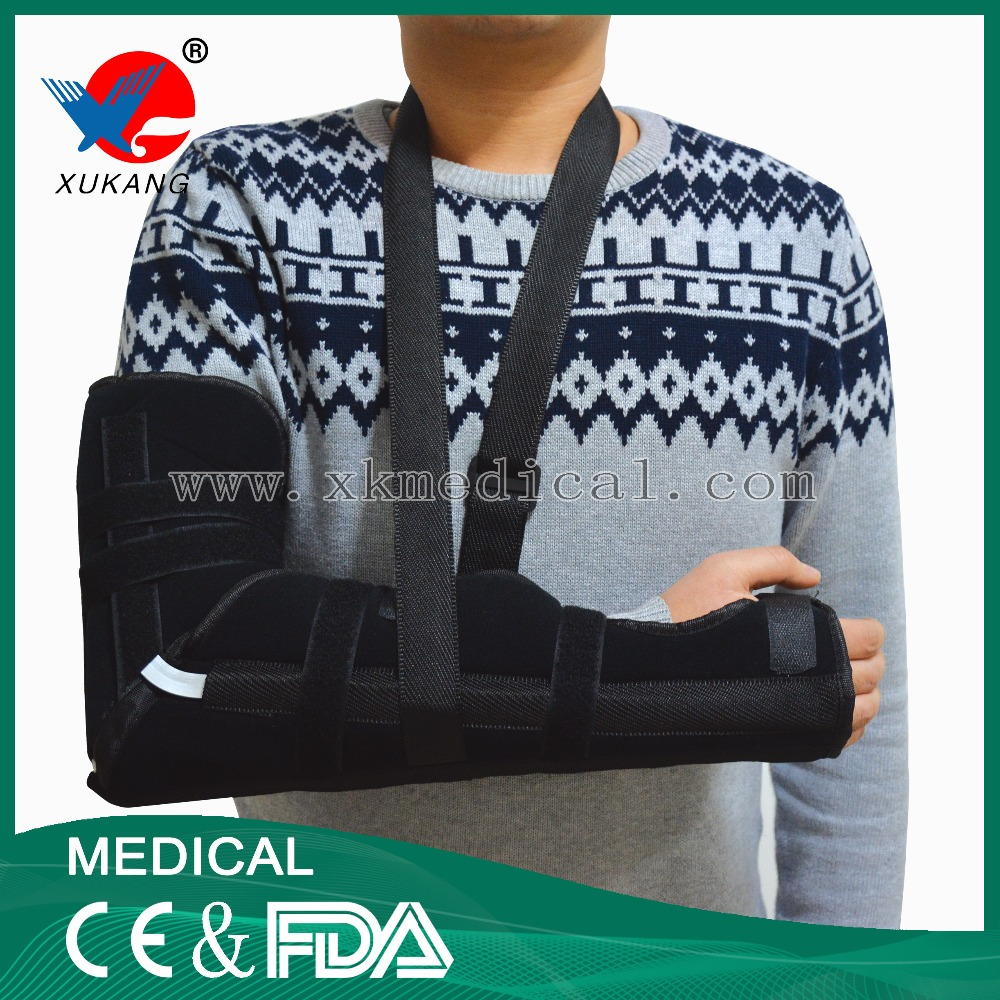 Forearm and elbow Brace,comfortable broken orthopedic arm sling