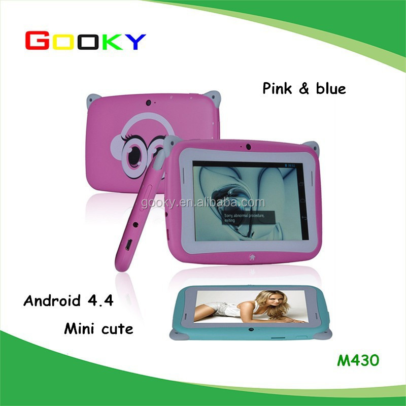 Kids Pre school Tablet PC Hot Sale Cheapest 4.3 Inch RK2926 Android 4.4 512MB RAM 4GB ROM WIFI Dual Cam MINI Tablet