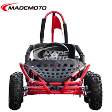 80cc Lifan engine with reasonable price adjustable molded bucket seat with secure seat belt system off-road go kart