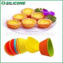 New product 2015 china online selling tpr mould round muffin baking pan