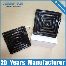 122*122mm Black Infrared Ceramic Flat Heater