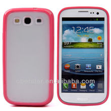 Crystal TPU Silicon Bumper Rubber Thin Matte Back Cover Skin Case For Samsung Galaxy S3 i9300