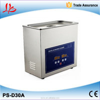Best Quality Digital Ultrasonic Cleaner PS-D30A (4.5L) for video chip cleaning
