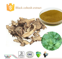 GMP/Haccp/ISO9001 Factory Provide Natural Black Cohosh Extract(triterpene glycosides) in High Quality