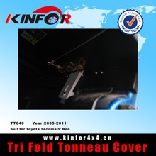 trifecta tonneau covers for Nissan Frontier 5' Bed (with or without Utilitrack) Year 2005-2011