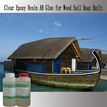 Epoxy Resin AB Glue for Wood Boat Built
