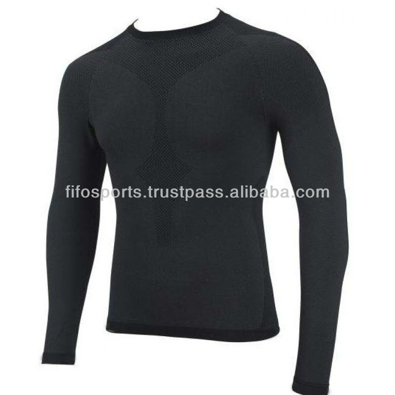 Men's Long Sleeve Performance Base Layer Shirts