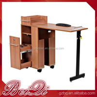Beiqi Wholesale Used Nail Salon Equipment Cheap Nail Table, Manicure Table for Sale