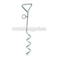 New Style Most Popular High Quality Metal Tie Out Dog StakeLE044