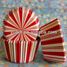 High Quality Cake Tools Ray pink candy baby shower Design Paper Cupcake Wrapper /Cupcake Cups /Cupcake Liners