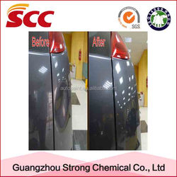 Car repair usage and liquid state glass coating for cars