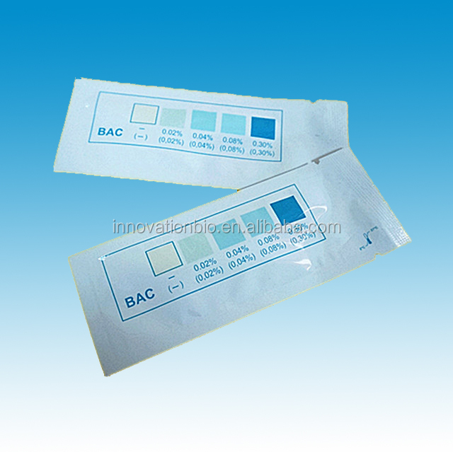diagnostic test kit disposable one use alcohol saliva test