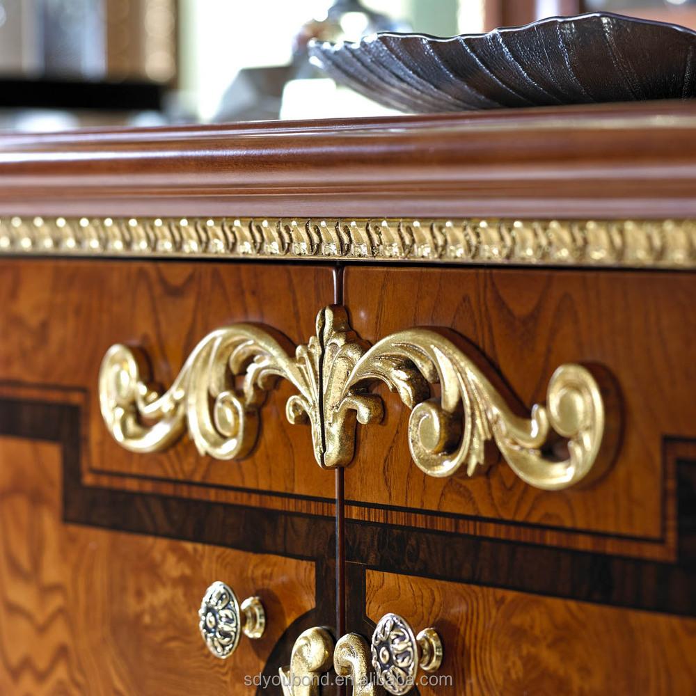 0038 Antique European Italy Luxury Dining Buffet Classic