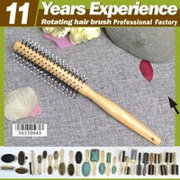 11 year experience factory professional private label Eco-Friendly rotating hair brush
