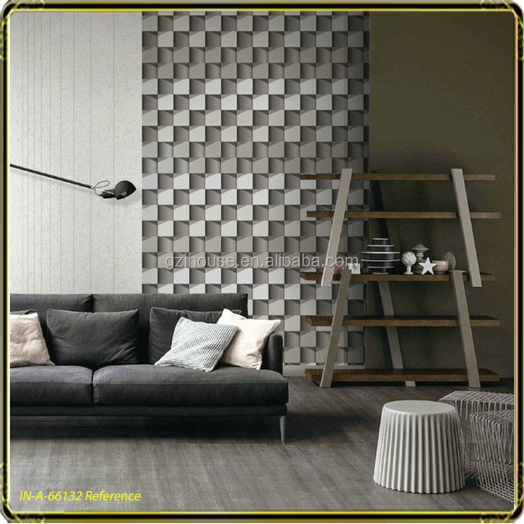 Square shape design 3d designs for tv backed <strong>wall</strong> living <strong>walls</strong> wallpaper