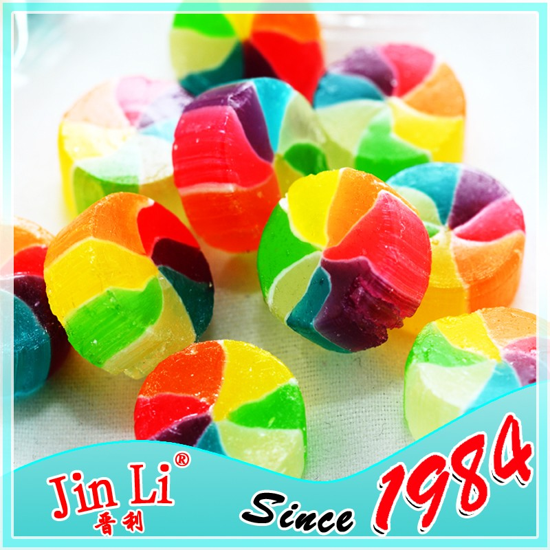 Hot selling Mix fruit filled hard candy