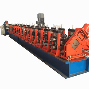Automatic High Speed C Z Purlin Roll Forming Machine For C Purlin Steel Structure