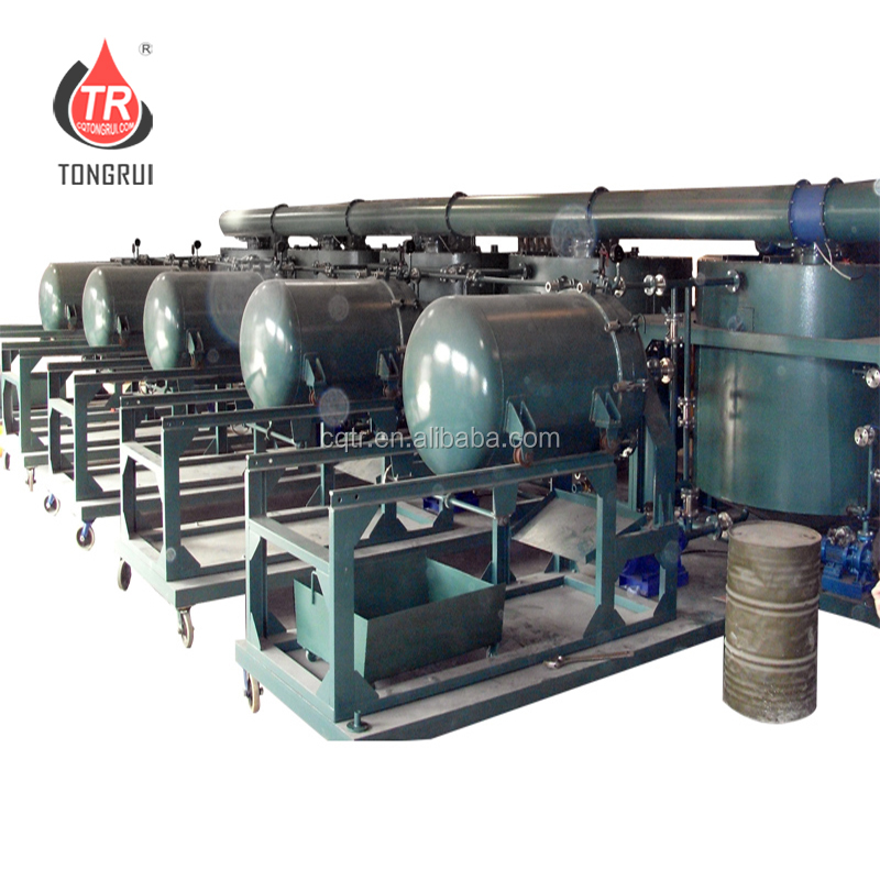 Used Automotive Engine Oil Recycling Machine Motor Oil Regeneration Plant