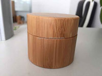 2016 30ml 50 ml bamboo cream jar