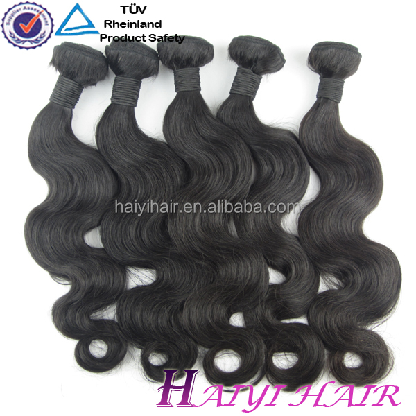 2016 Tangle free best remy hair high quality body wave Peruvian Hair Body Wave Hair