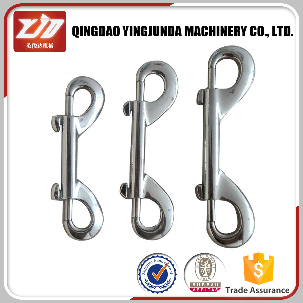 Free Sample Metal Quick Release Double End Snap Hook