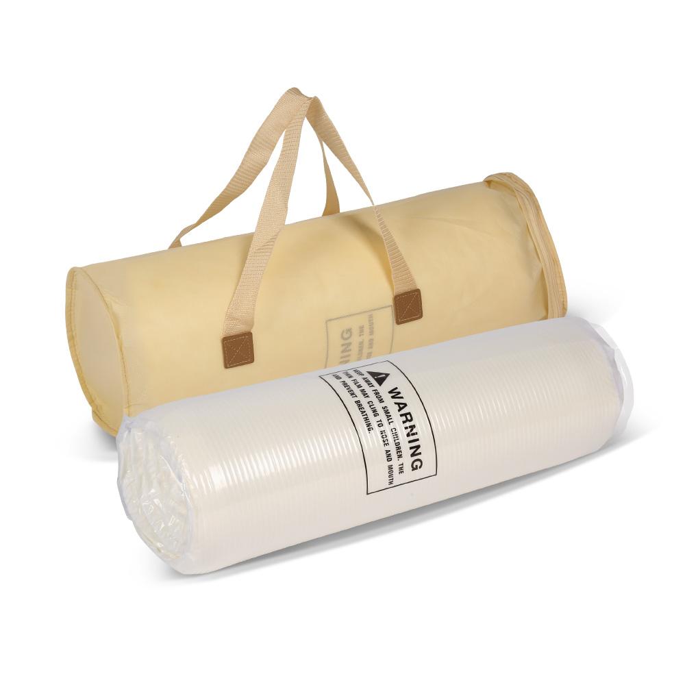 King Size Relieve Pressure Memory Foam Bouncing Bed Mattress Topper Roll Able Foam - Jozy Mattress | Jozy.net