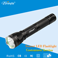Brinyte 2*18650 lithium battery rechargeable led flashlight torch