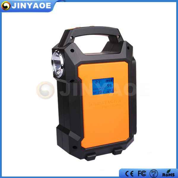 2015 Host sale 12V 24V car portable jump starter 36000mah truck battery booster