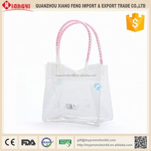 Strong plastic collapsible durable food packaging nylon bag