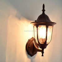 Industrial Outdoor Wall Lamps Vintage Style Iron Wall Lighting