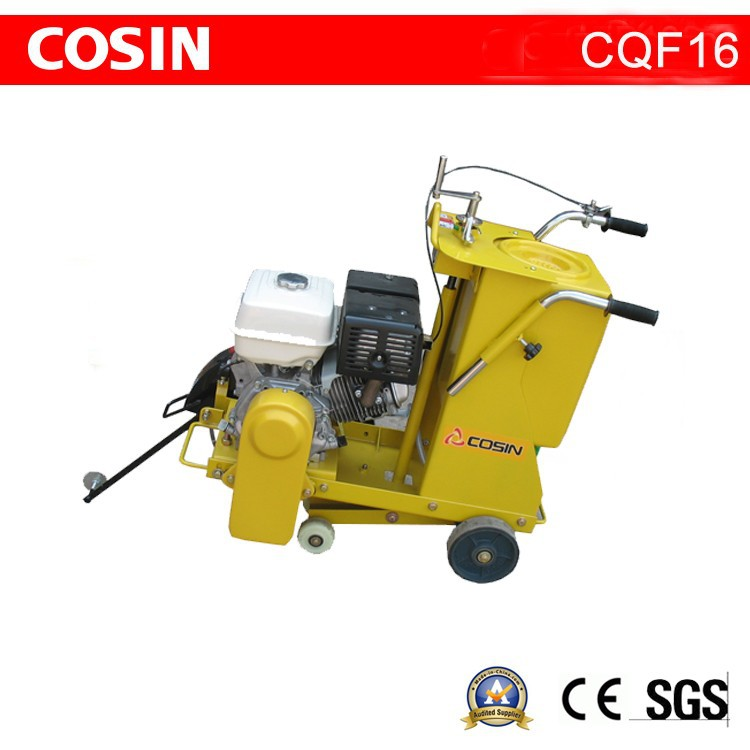 Honda GX390 Engine Road Cutter Cosin CQF16 Concrete Saw Cutting Equipment
