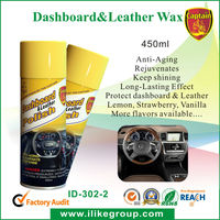 Dashboard Wax Aerosol Spray with High Shine manufactrer/factory (RoHS Certificate)