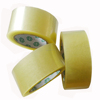 high quality super clear no bubble yellowish bopp box packaging tape