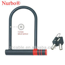*SL302 shackle lock/u lock/security lock Nurbo motorcycle U lock bicycle U lock bike U lock