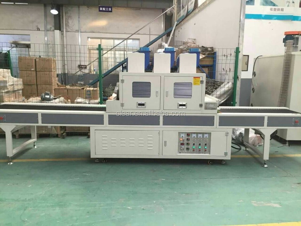 UV curing conveyor oven/line