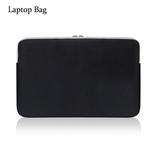 Custom black waterproof neoprene laptop sleeve