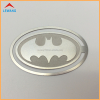 Wholesale Batman Metal Bookmarks for Promotional Advertising Gifts Oval Bookmarks