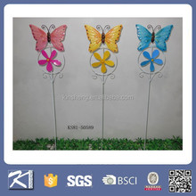 Hot sale colorful metal garden windmill