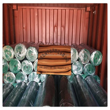 1*30 m PVC green coated electro galvanized welded wire mesh / 1x1 pvc coated welded wire mesh